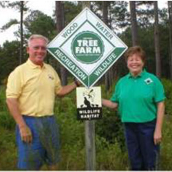 Tree Farmers Judy and Dwight Batts